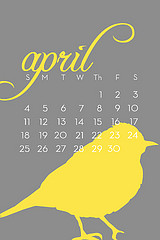 Calendar   April resized 600