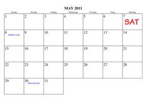 May 2011 SAT